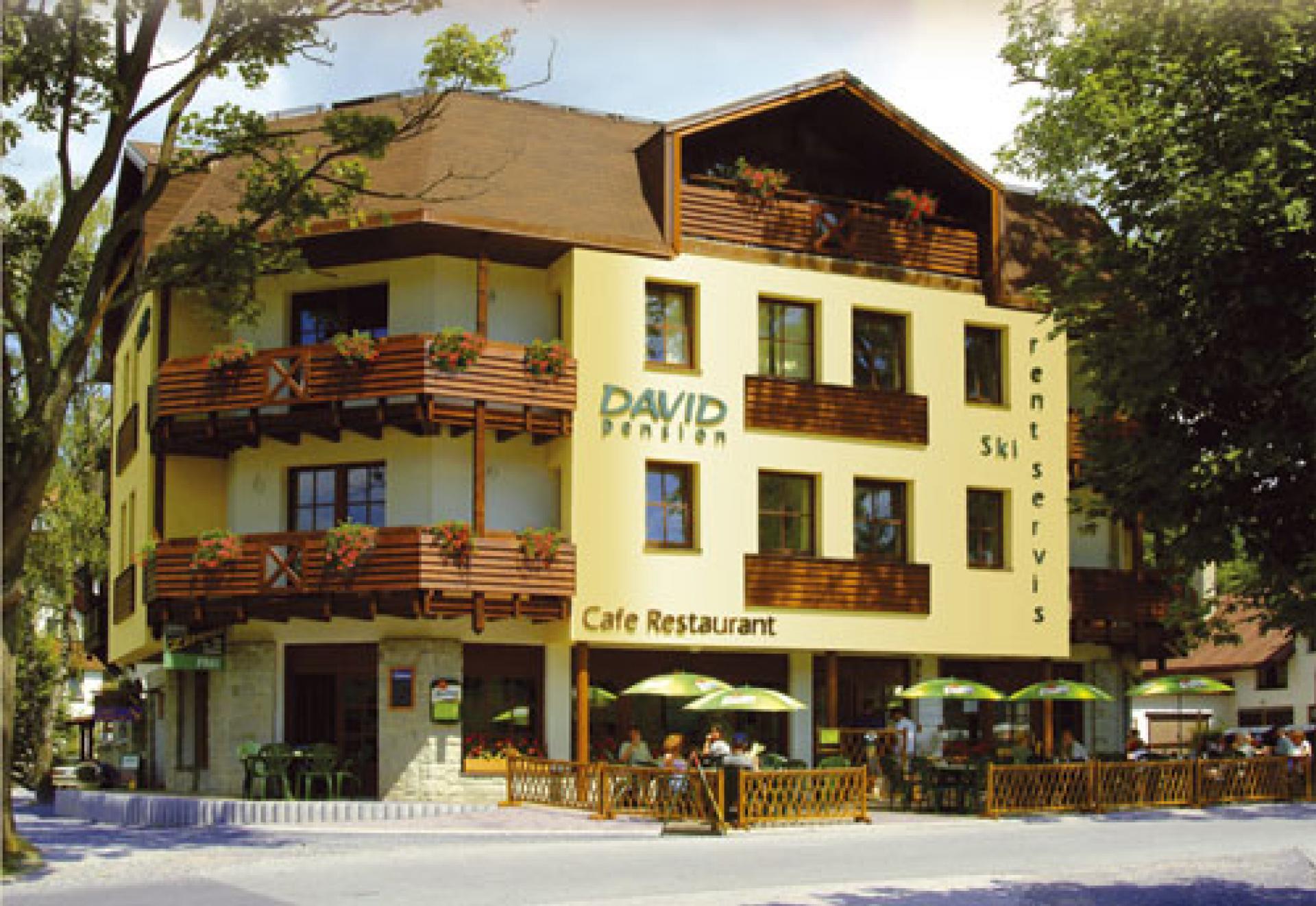 Pension hotel david harrachov info for Warnemunde hotel pension