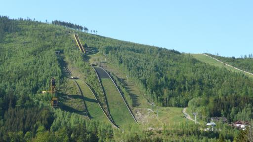 Skisprungschanzen in Harrachov