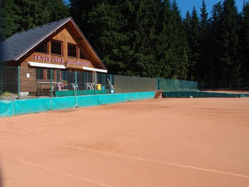 Tennis Harrachov - Sandplatz